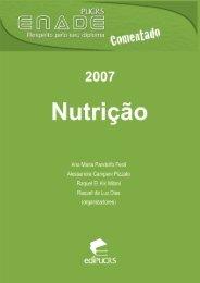 ENADE Comentado 2007: Nutrição - pucrs