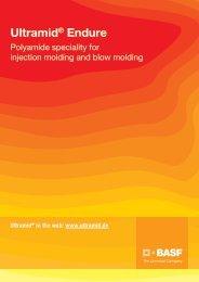 Ultramid® Endure - Brochure - BASF Plastics Portal
