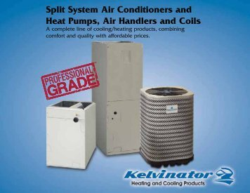 Split System Air Conditioners and Heat Pumps, Air ... - Nordyne