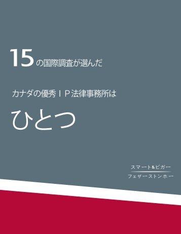 Survey brochure 2010_B - Smart & Biggar/Fetherstonhaugh