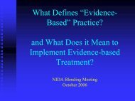 """What Defines """"Evidence- Based"""" Practice? and What Does it Mean ..."""