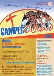 Campeggio RNS 2012 - Rinnovamento nello Spirito Santo
