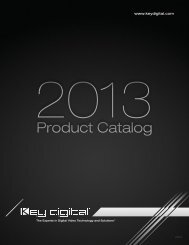 NEW - Fall 2013 Product Catalog - Key Digital