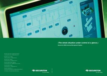 Brochure SecuriLink UMS