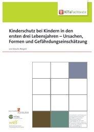 Kinderschutz bei Kindern in den ersten drei ... - KiTa Fachtexte