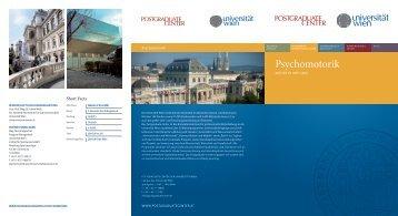Psychomotorik - Postgraduate Center