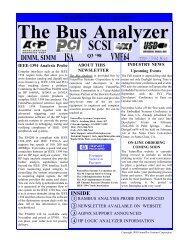 The Bus Analyzer - FuturePlus Systems
