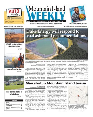 Mountain Island - Carolina Weekly