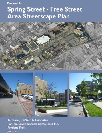 Spring Street Consultant Proposal - City of Portland