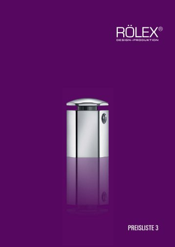 PREISLISTE 3 - RÖLEX Ventile Produktion GmbH