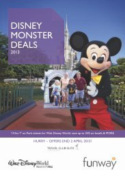 Disney World Deals - Travel Club Elite