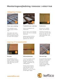 Monteringsvejledning træterrasse - F.wood-supply.dk