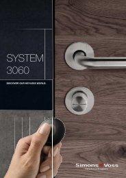 SYSTEM 3060 - Simons-Voss