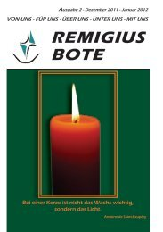 REMIGIUS BOTE - St. Remigius Viersen