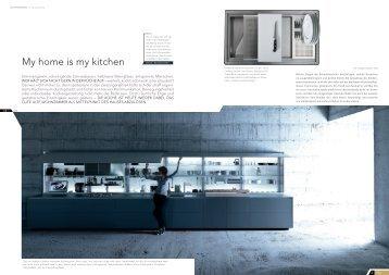 My home is my kitchen