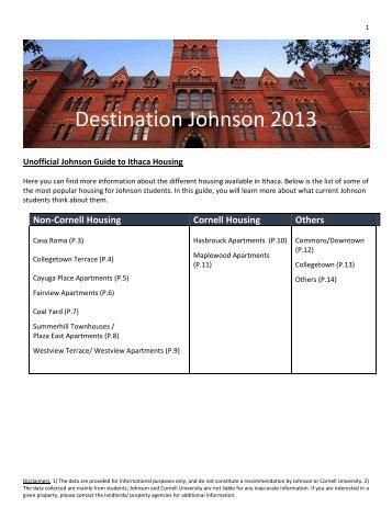 2013 DJ Housing Guide - Johnson Graduate School of Management ...
