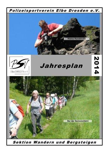 jp2014.pdf - 631 KB - PSV Elbe Dresden eV -Sektion Wandern und ...