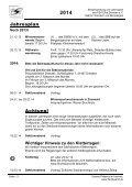 jp2014.pdf - 631 KB - PSV Elbe Dresden eV -Sektion Wandern und ... - Seite 2