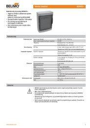 Teknisk datablad MONICO-.. - Trox