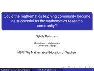 Slides - Department of Mathematics - University of Georgia