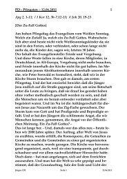 Sonntag, 12. Juni 2011 - St. Michael Weingarten