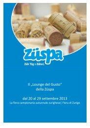 OFFERTA (pdf) - Camera di Commercio Italiana per la Svizzera