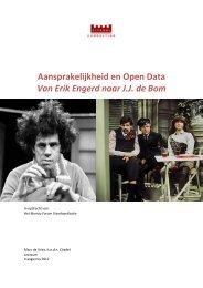 Aansprakelijkheid en Open Data Van Erik Engerd naar J.J. ... - Logius