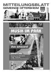53. Jahrgang Freitag, 17. Mai 2013 Nummer 20 - Nussbaum Medien