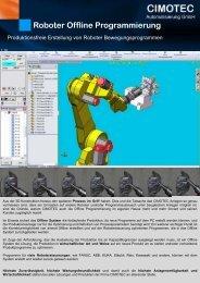 Roboter Offline Programmierung - CIMOTEC Automatisierung Gmbh
