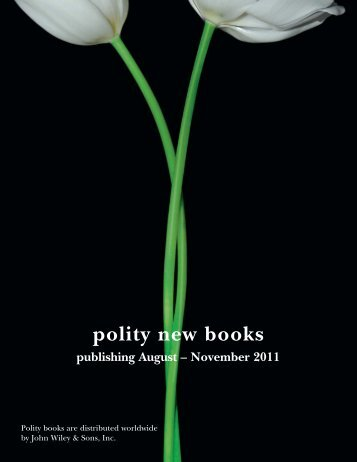 Polity New Books Aug - Nov 11 :Layout 1