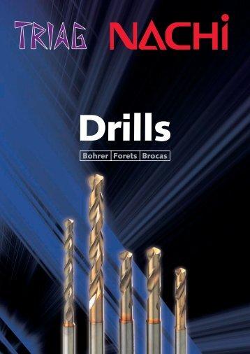 Nachi Katalog Drills 2011.01 - TRIAG AG