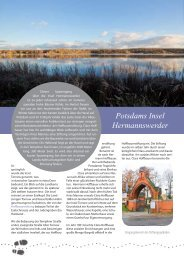 Ausgabe als PDF: Hermannswerder - Potsdam entdecken