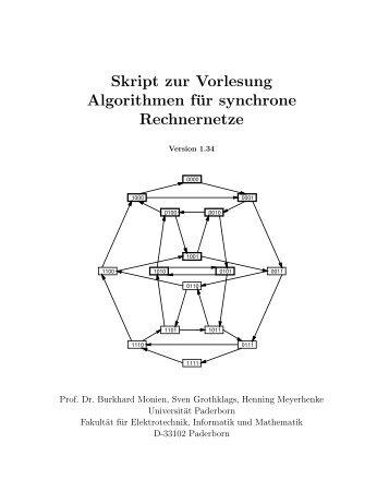 Skript zur Vorlesung Algorithmen für synchrone Rechnernetze