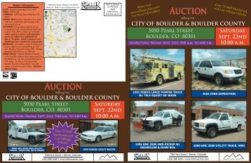 CITY OF - Roller Auctioneers