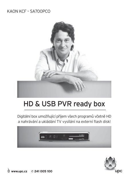 HD & USB PVR ready box - UPC