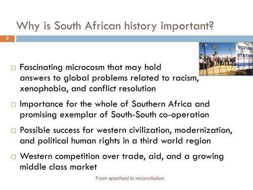 apartheid - Stolten's African Studies Resources