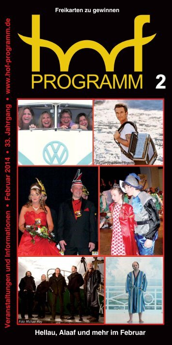 HP 02/2014 - Hof Programm