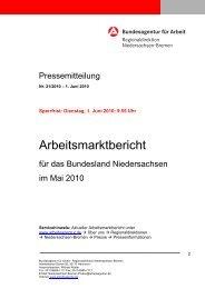 Niedersachsen 5/2010 - LAK Berufsnot
