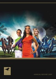 ANNUAL REPORT 2009 - Moonee Valley Racing Club