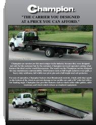 Champion 19' Steel Carrier - Zip's Truck Equipment
