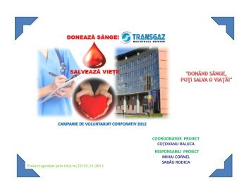 Descarca proiectul in format PDF - Transgaz