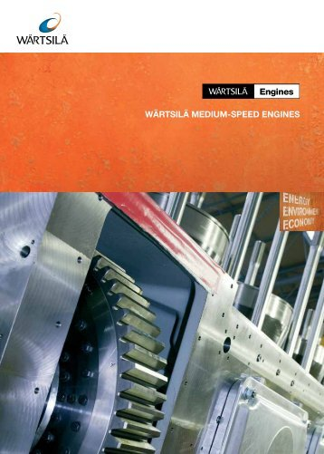 Wärtsilä Medium-Speed Marine Diesel Engines