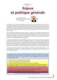 Enjeux et politique générale - Ixarm