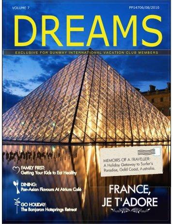 Dreams Newsletter Volume 7