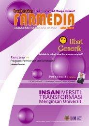 Farmedia Edisi 4 - USM Kampus Kesihatan