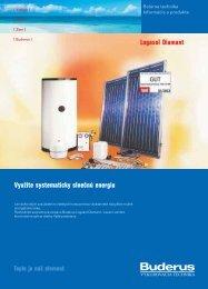 Logasol Diamant Využite systematicky slnečnú energiu - Buderus
