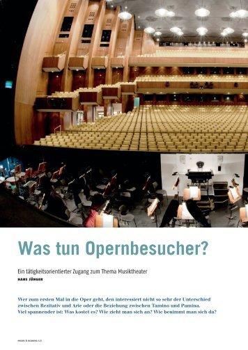 Leseprobe MuB 1/2013 - Schott Musikpädagogik