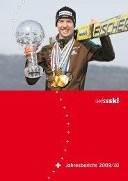 Jahresbericht 2009/10 - Swiss-Ski