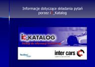 instrukcja - Inter Cars SA