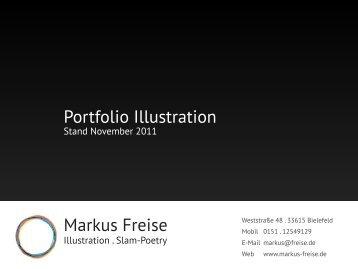 Markus Freise Portfolio Illustration